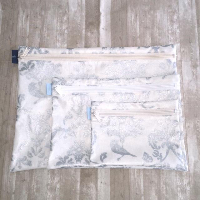 画像2: 【型紙】ラミネートで作るフラットポーチ(3サイズ)