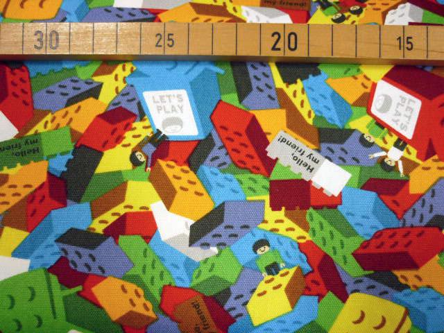 画像1: 【オックス】カラフルブロックがいっぱい レゴ風ブロック
