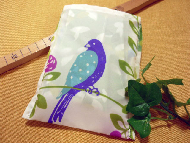 画像3: 【型紙】ナイロン生地用 まるちゃんバッグ