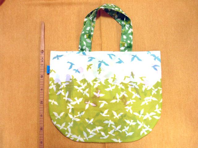 画像2: 【型紙】ナイロン生地用 まるちゃんバッグ