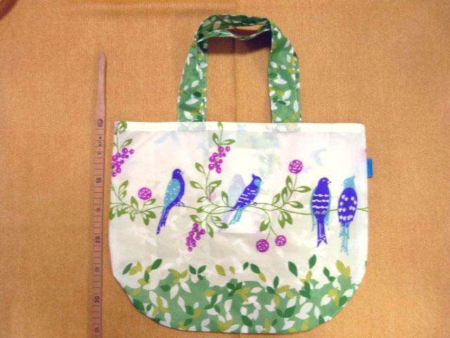 画像1: 【型紙】ナイロン生地用 まるちゃんバッグ
