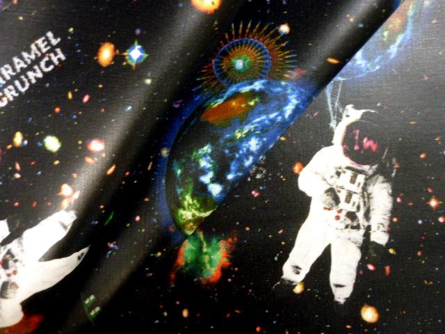 画像1: 【ラミネート】宇宙 CARAMEL-CRUNCH★Fabric
