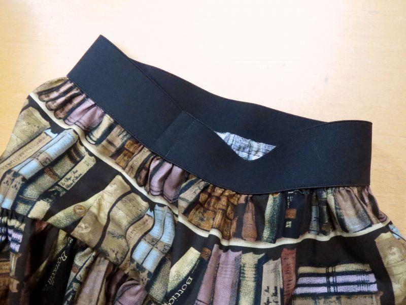 画像1: 【10cm単位続けてカット】ゴムベルト スカート/パンツなどに! 50mm幅