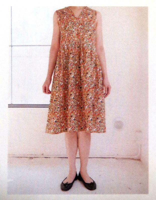 画像2: 【型紙】collabocca×SmileLife ジャンパースカート(ワンピース)