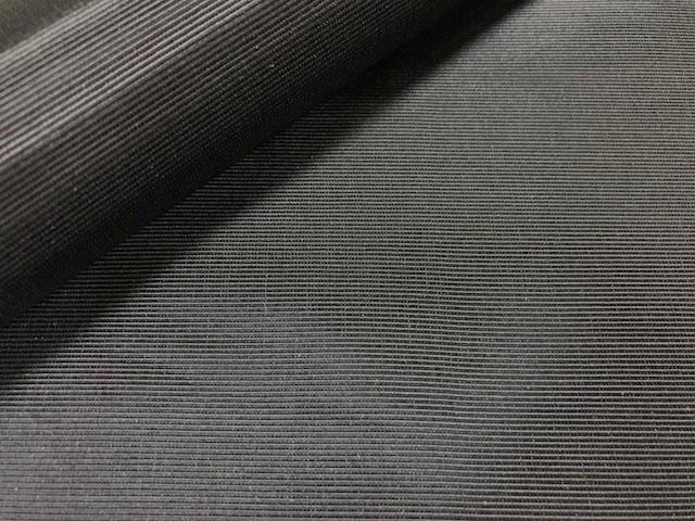 画像2: 【グログラン】◆訳あり約50cmハギレ 黒無地