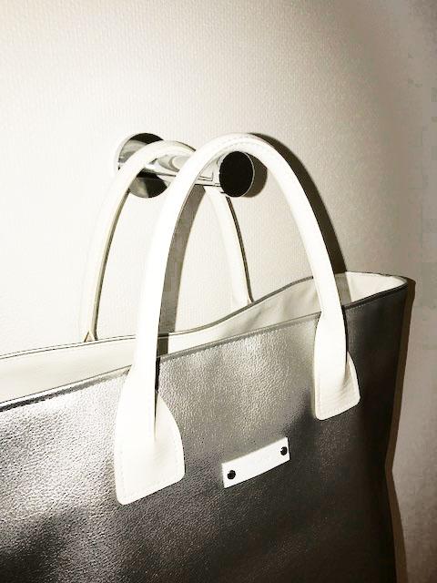 画像3: 【合成皮革スタンダードトートバッグLサイズ「Y-21」材料キット】◆表布約50cm※裏布は含まれておりません