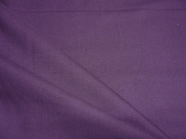 画像1: 【綿サテン】103003■約90cmハギレ 紫無地 薄手