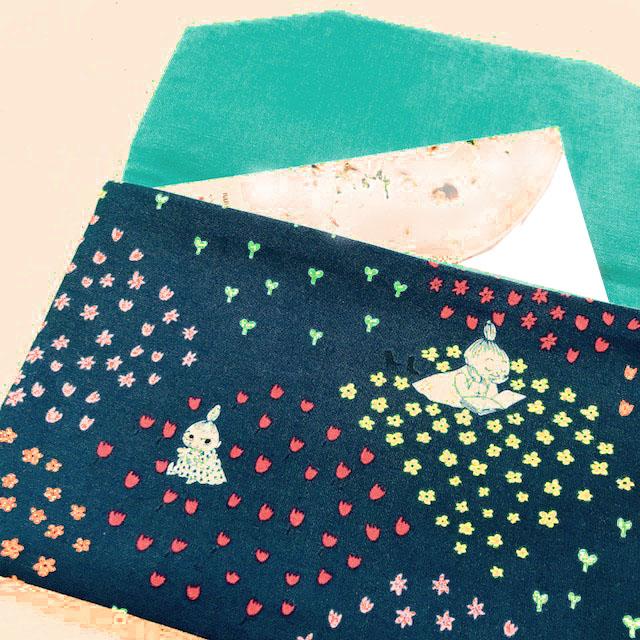 画像1: 【型紙】ポケットなしの簡単マルチケース