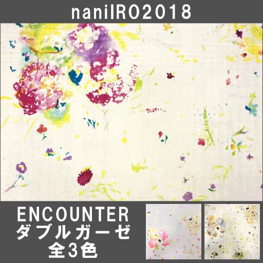 画像1: 【ダブルガーゼ】ENCOUNTER naniIRO2018 偶然の出会い
