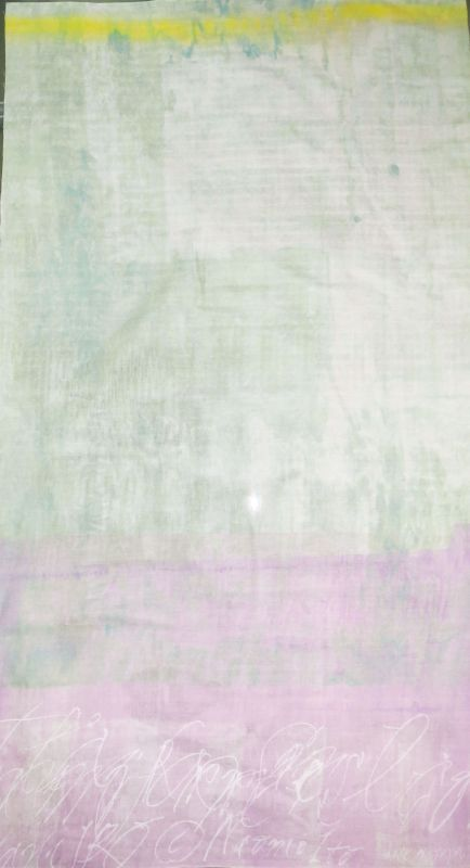 画像1: 【ダブルガーゼ】051622■約50cmハギレ★RIPPLE naniIRO2018 さざなみA.ピンク系
