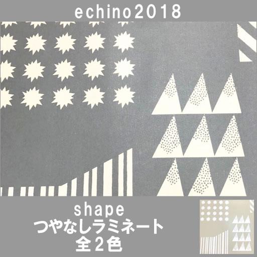 画像1: 【ラミネート】★約57cmパネル単位続けてカット★シェイプ ニュートラル&キラキラ echino2018 shape