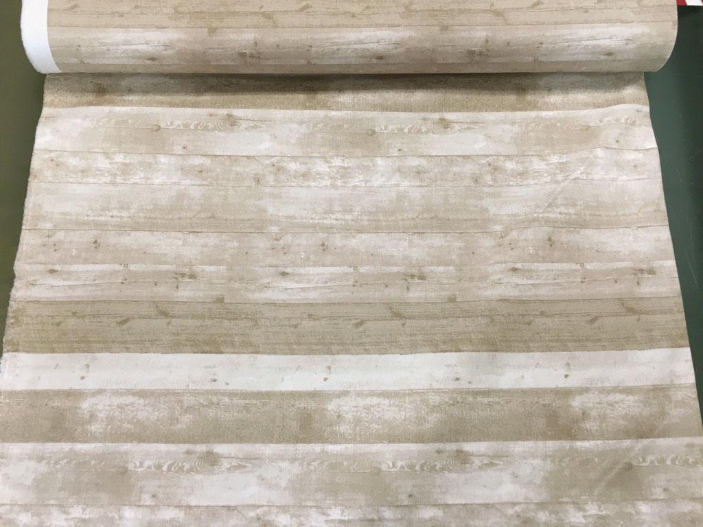 画像1: 【10番キャンバス】082612■約40cmハギレ フローリング 板の柄 ナチュラルベージュ★★