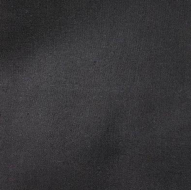 画像1: 【綿麻オックス】082606■約35cmハギレ 無地 チャコールグレー