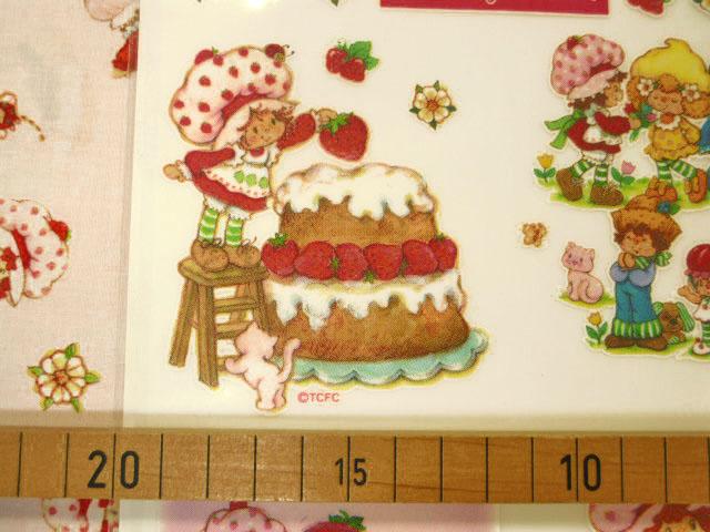 画像2: アイロン転写シート  ストロベリーショートケーキ