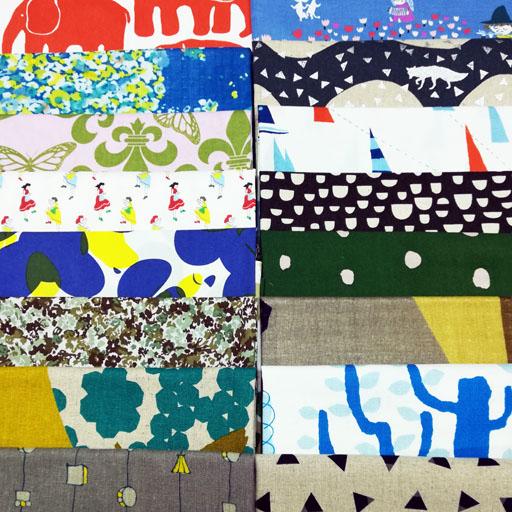 画像1: ☆おしゃれセット☆ 約50cm×約50cm 5枚布セット福袋
