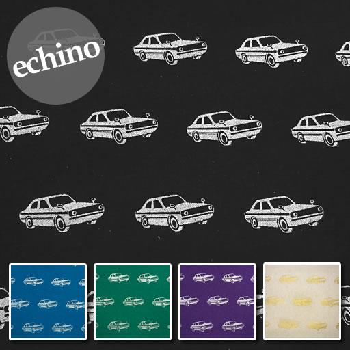 画像1: 【綿麻キャンバス】エチノ ニコ ラメ カー echino2019 car 2019AW
